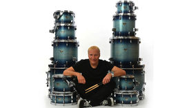 Gregg Bissonette switches to Dixon Drums