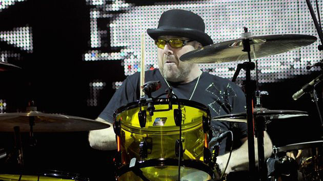 Jason Bonham at the kit
