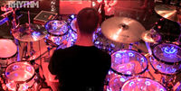 VIDEO: Example drummer talks through his LED Chequerplate kit