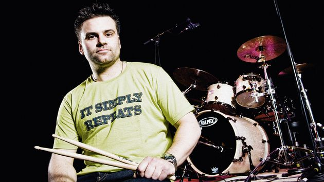 Drum tutor extraordinaire Justin Scott