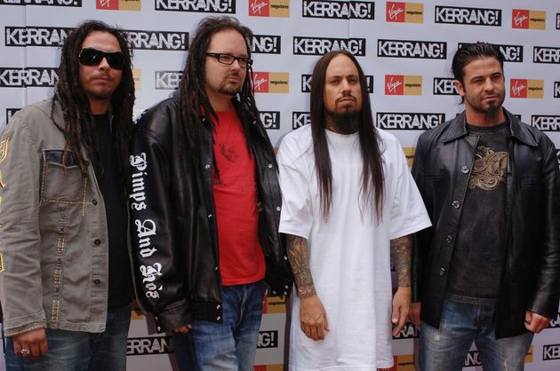 Silveria with Korn back in 2005