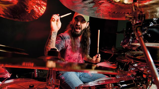 Free Mike Portnoy drum lesson