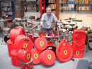 Protection Racket create Ferrari cases for Nick Mason