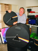 Nick Mason saves Foote's drum store