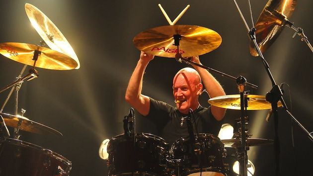 Chris Slade live in Italy