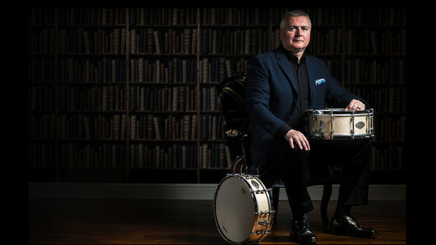 Brit icon joins British drumming institution