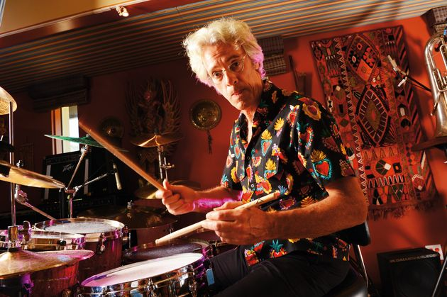 Stewart Copeland, still loving the drums