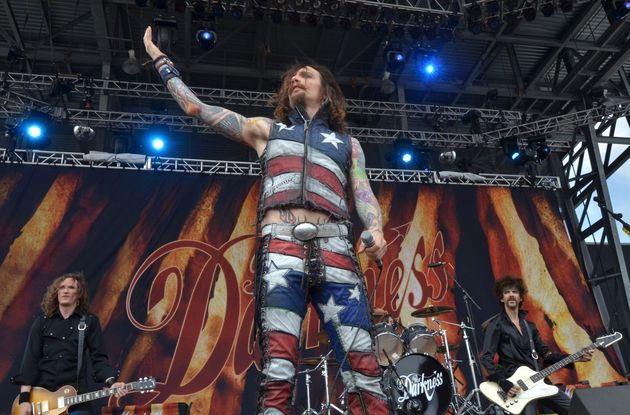 The Darkness at Rock on the Range festival