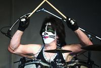 Peter Criss KISS outfit up for sale