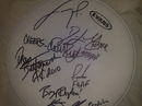 Win: A drum head signed by the stars