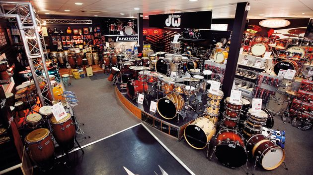 The best drum stores
