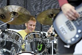 The drum heroes of Download 2013