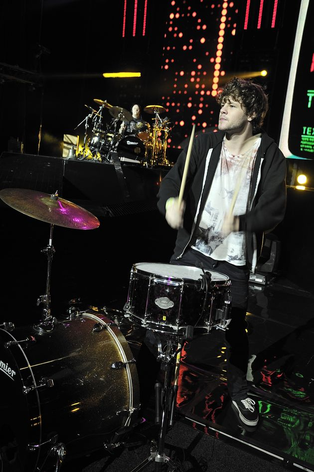 In Pictures: The Wanted's Jay McGuiness joins Steve Barney at the kit