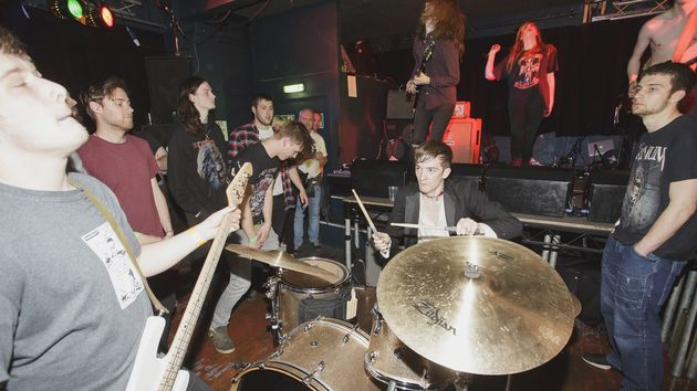 Recording with Marmozets…