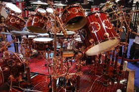 Neil Peart Time Machine kit tour