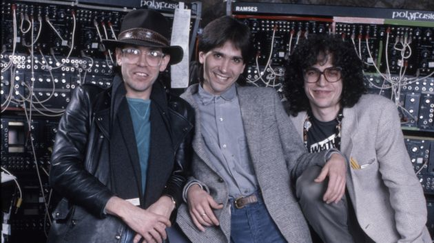 Toto's brothers in the studio