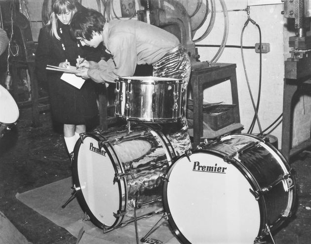 Behind the scenes at Premier with Keith Moon