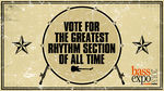 Vote for the greatest rhythm section of all time