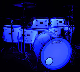 In Pictures: Spaun LED Drum Kit