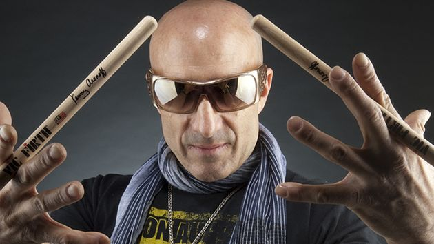 Session superstar Kenny Aronoff