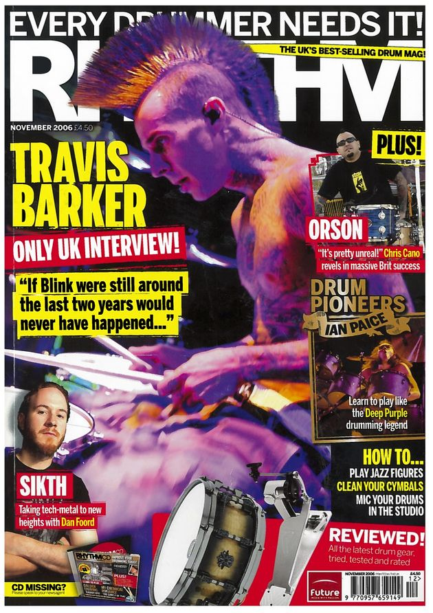 Travis Barker: Career in Covers