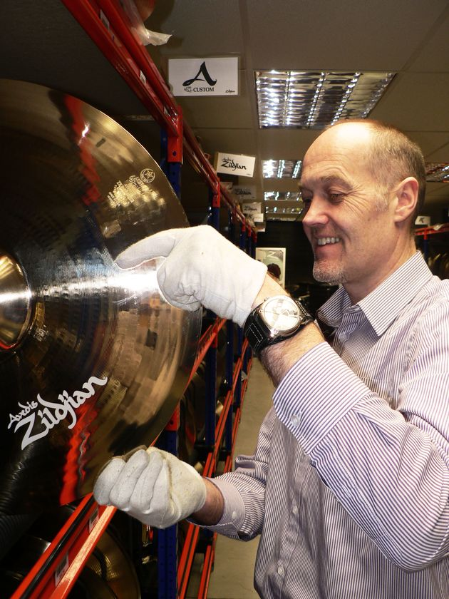 In Pictures: Inside Zildjian's Vault