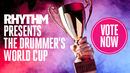 Drummer's World Cup Final: Neil Peart v Matt Halpern - vote now!
