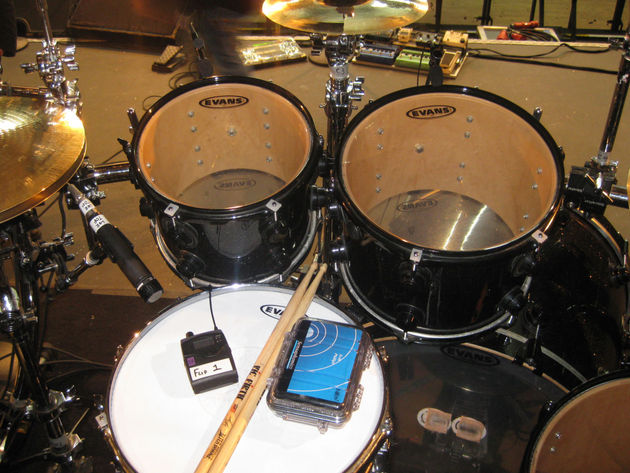 Alter Bridge drummer shows us around his DW