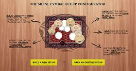Meinl announces Soundcheck cymbal set-up configurator