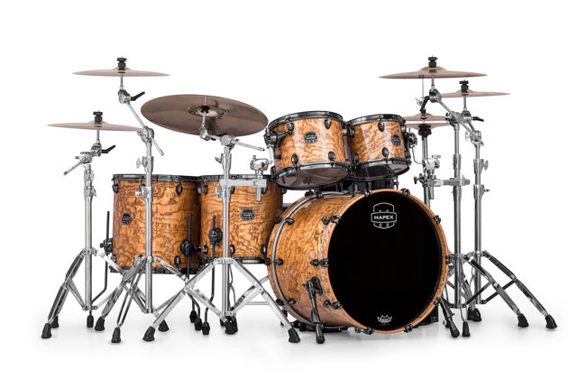 Mapex announces new kits, snares and hardware