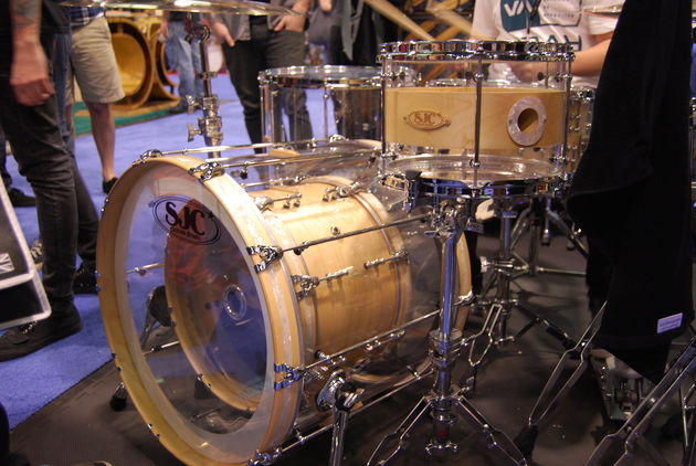 Bass drum within a bass drum