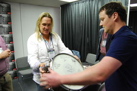 Nicko McBrain celebrates 20 years with Premier Drums