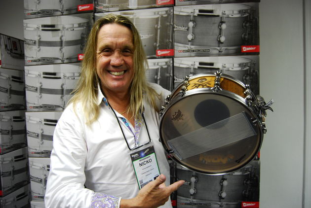 Nicko's new snare