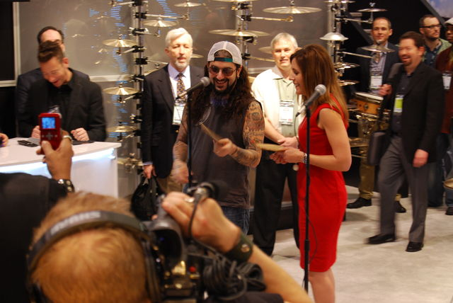NAMM 2013 In Pictures: Cymbal Vote Choice winners revealed