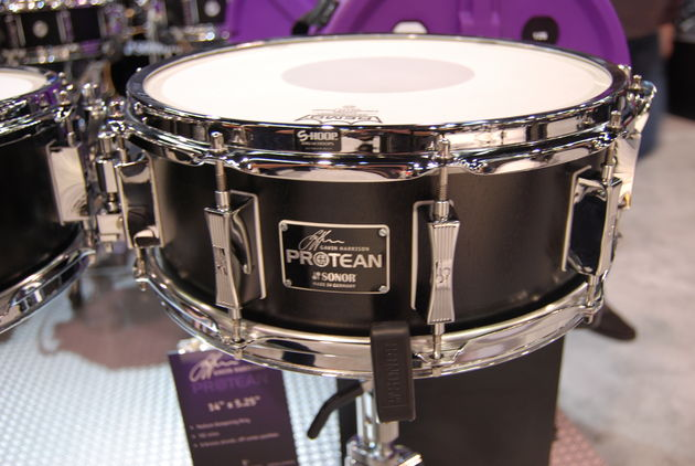 NAMM 2013: In Pictures: Sonor Gavin Harrison snare