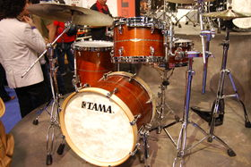 NAMM 2013: In Pictures: Tama