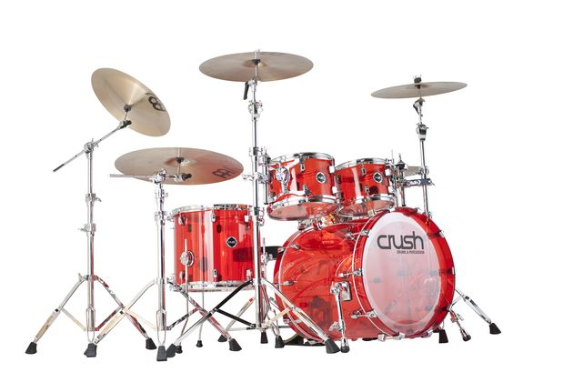 Crush Acrylic Drums get an update
