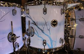 NAMM 2014: Crush Drums booth in pictures