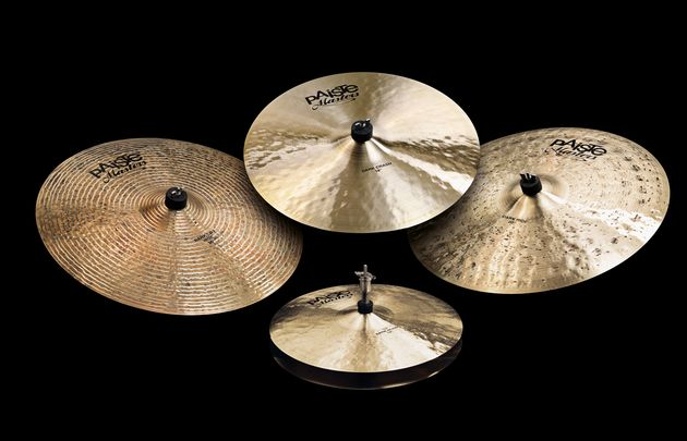 Paiste Masters Dark crash and hi-hats