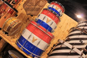 NAMM 2014: The coolest kits, snares and finishes at this year's NAMM!
