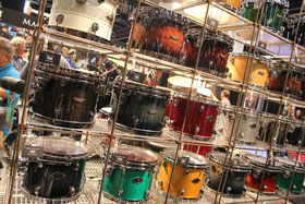 NAMM 2014: Tama stand in pictures