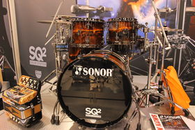 NAMM 2014: Sonor Drums stand in pictures