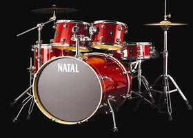NAMM 2013: In Pictures: Natal Spirit kit and Bullet and Kitch pedals