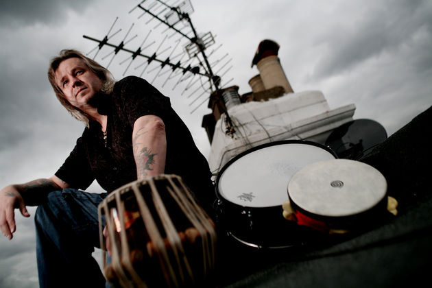 World drumming maestro Pete Lockett