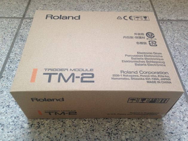 The new TM-2 Roland