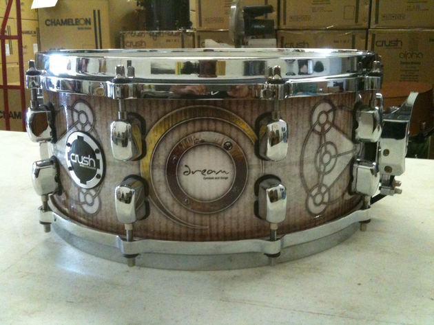 Custom drum taken