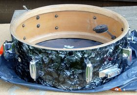 In Pictures: English Rogers snare restoration project