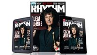July issue of Rhythm on sale now!
