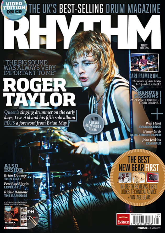 5 drummers to check out from this month's Rhythm