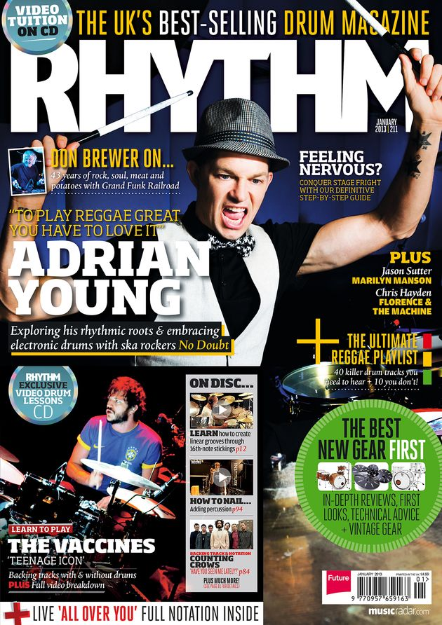 Get Rhythm digitally for £2.99 per issue